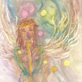 On demand Drawing Guardian angel_SASKIA Art and Healing