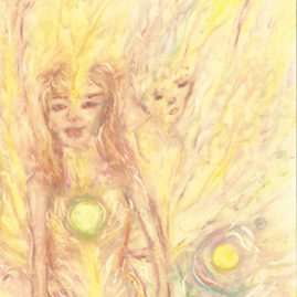 The lightest of the light angels - Saskia Art and Healing