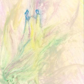 Spiritual drawing Saskia Art and Healing Sacred unity