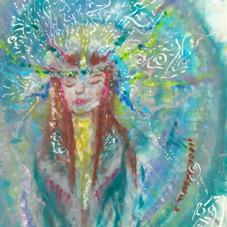 Be, meditate, light langugae
