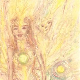 The lightest of the light angels - Saskia Art and Healing