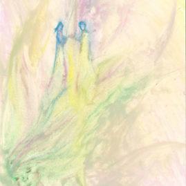 Spiritual drawing Saskia Art and Healing Sacred unity