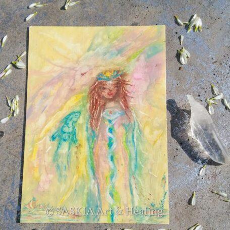 unicorn blessings _ spiritual drawing
