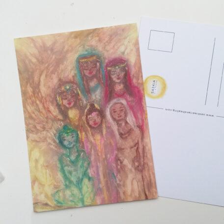Mother Mary, Mary Magdalene, Green Tara, Quan Yin, Goddess Isis, White buffelo woman