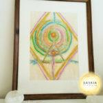 original artwork meditate higher consciousness