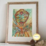 art original art original goddess art