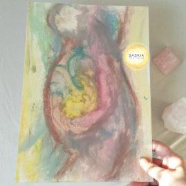 Art Print moederschap