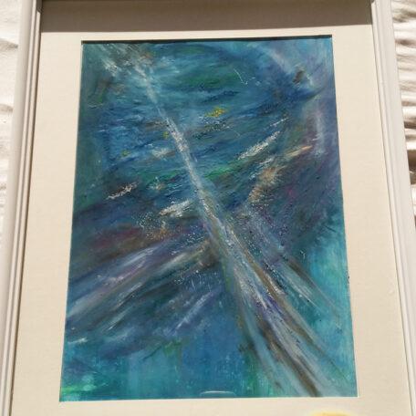 Light Pillar_SASKIA Art and Healing