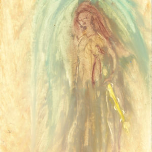 Mary Magdalene and her sword of light truth