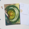 Queen Moon postcard