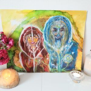 Mary Magdalene and Mother Mary
